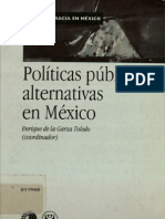Politicas Publicas Alternativas en Mexico