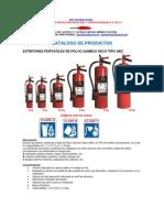 Catalogo Extintores Mps