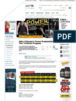 Bodybuilding.com - Mike O'Hearn's Power Bodybuilding_ the 12-Week Program