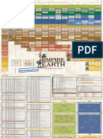 Empire Earth - Quick Reference Card - PC