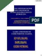 Gases Anestesicos Residuales Polucion Anestesica Nacional Guillermo Almenara