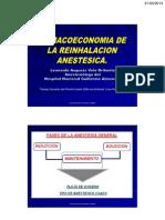 Kaelin Farmacoeconomia Reinhalacion Anestesica Nacional Guillermo Almenara