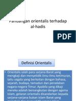 Pandangan orientalis terhadap al-hadis.pptx