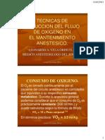 Tecnicas Reduccion Flujo Mantenimiento Anestesico Hospital Nacional Guillermo Almenara
