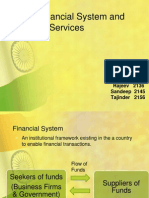 Indian Financial System and Financial Services.