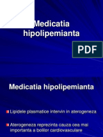 Medicatia hipolipemianta