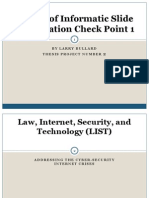 Law, Internet, Security, And Technology