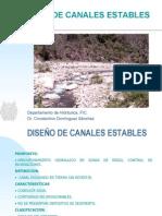 DISEÑO DE CANALES ESTABLES