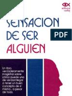 La Sensacion de Ser Alguien - Maurice E Wagner