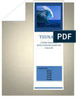 Tsunami- Causes and Mitigation Measures
