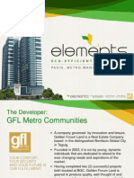 Elements Pasig Presentation 2013