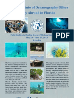 Florida Institute of Oceanography Offers