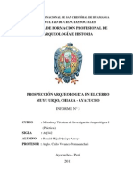 Modelo Informe de Prospeccion Arqueologica
