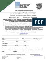 Vehicle Registration Form 2013