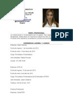 Cv Carolina Montoya