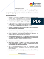 Perfil Sectorial - Materiales de construcción_Proexport