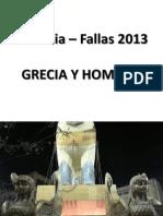 Fallas'13 - Grecia y Homero