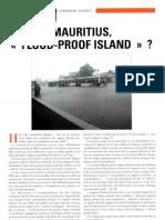 Mauritius, flood-proof Island ?