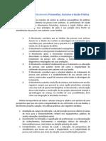 Manifesto do Movimento Psicanálise, Autismo e Saúde Pública 02 04 2013