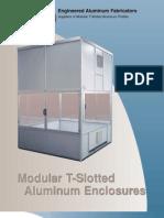 CMM, Environmental Safety Industrial Enclosures Brochure from Engineered Aluminum Fabricators - Machine Tool Enclosures