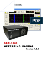 SDR-1000 Operating Manual v1.8.0