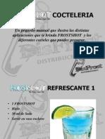 Frostshot Manual Cocteleria