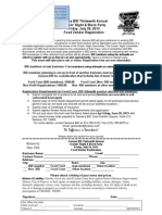 Food Vendor Registration Form 2013