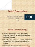 Radio's Anarcheology