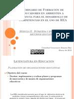 REA para Planeación estratégica (CCRM)
