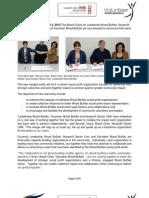News Release LWB, LINK & VWB Merger