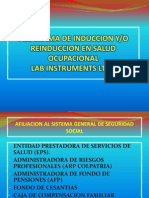 Programa de Induccion y Entrenamiento Lab Instruments