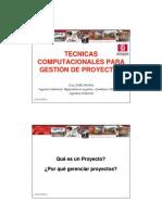 PERT CPM Gestion de Proyectos