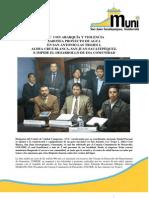 Comunicado de Prensa San Juan