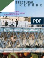 Architectural Record 2010-11