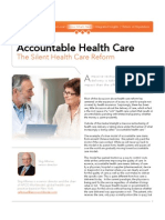 Accountable Health Care :