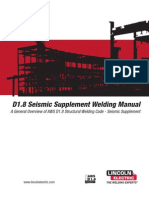 AWS D1.8 Seismic Supplemental - Welding Manual