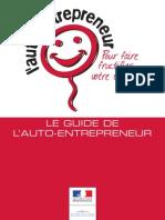 Guide Officiel Autoentrepreneur Mars 2011