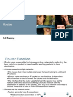 Routers Configuration