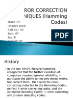 Hamming Code PPT