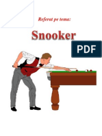Snooker Referat