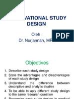 Observational Study Design