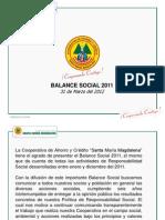 Balance Social 2011
