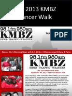 2013 KMBZ Cancer Walk