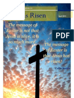 Peebles Baptist Church magazine - April 2013