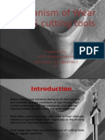 Mechanisms of Wear in HSS Cutting Tools