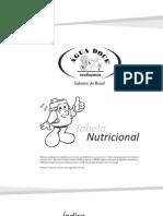 Tabela Nutricional de Bebidas