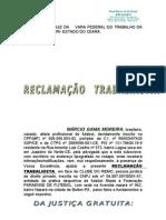 RECLAMAÇÃOTRABALHISTA PANDA X REMO