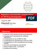 API Drug Development 082609