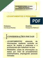 aulaTP_LEVANTAMENTOSEPESQUISAS