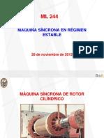 Clase N° 04 -  Maq. Síncrona de Rotor Cilíndrico - 28-11-2012